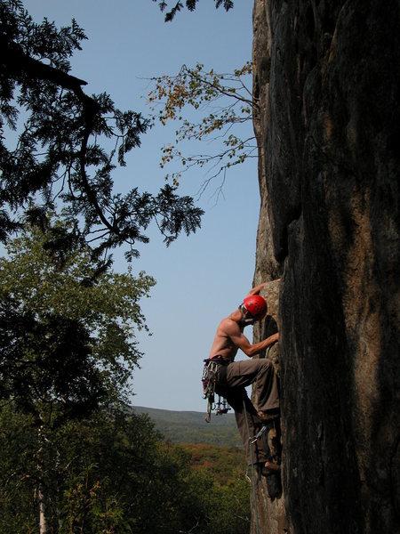 Rock Climbing Photo: Mark Bratlie Photo by: Matt Johnson