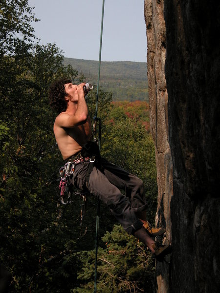 Rock Climbing Photo: Todd Hunter Photo by: Matt Johnson