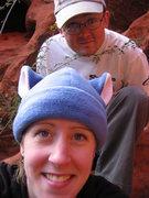 Rock Climbing Photo: Mike and Halee Schlangen Photo by: Halee Schlangen