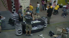 Rock Climbing Photo: Vitamin Water Booth, 2011 T&D