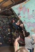 Rock Climbing Photo: Downstairs Bouldering Area, 2011 T&D