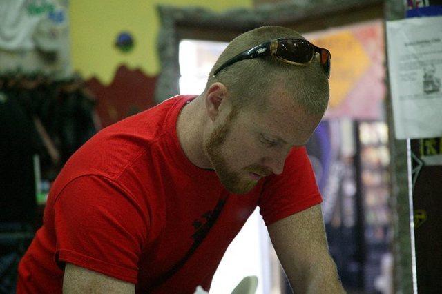 Rock Climbing Photo: Thrashers Team Coach Jeremy Cox, 2011 T&D