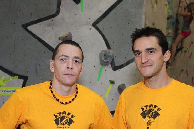 Rock Climbing Photo: Joe Czerwinski and Justin Wagner, 2011 T&D