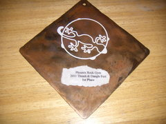 Rock Climbing Photo: 1st place awards made by Desert Rat Forge, Paul Di...
