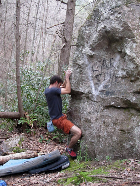 "Rock Climbing Photo: Aaron James Parler on the ""Trail Days"" A..."
