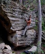 Rock Climbing Photo: Myself on Heartland