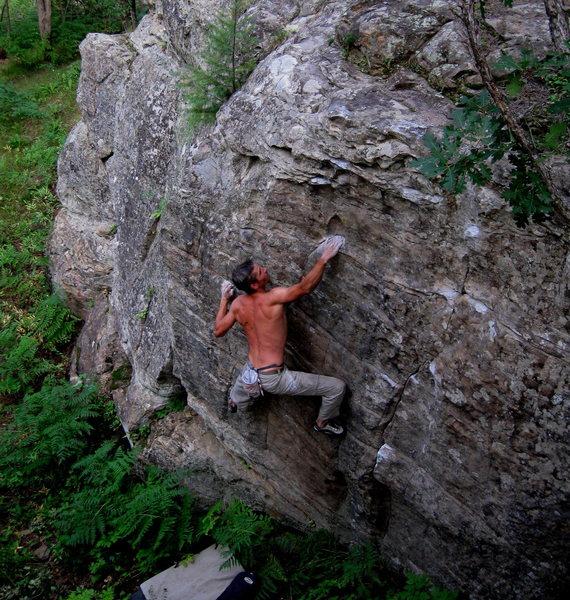 Rock Climbing Photo:  Unknown Left