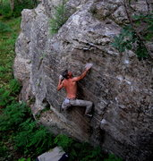 Rock Climbing Photo:  Unknown Left