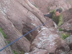 Rock Climbing Photo: Rick Kollath, infamous aid climber of the North Sh...