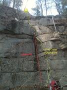 Rock Climbing Photo: dirty corner traverse