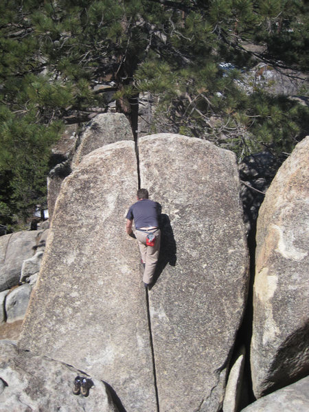 Rock Climbing Photo: As seen from the summit.
