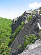"Rock Climbing Photo: View of the slab ""We Don't Need No Steenkin L..."