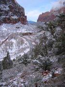Rock Climbing Photo: Zion National Park, UT