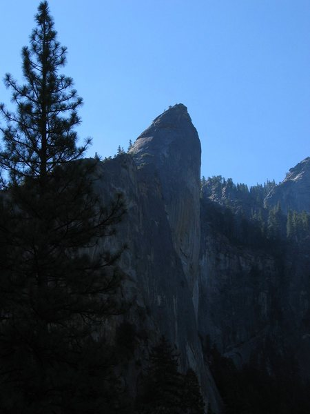 &quot;Leaning Tower&quot; at Yosemity Valley, CA.<br> Photo by: Matt Johnson