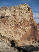 Rock Climbing Photo: The west face of Indian Garden West. The Warrior c...