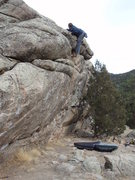 "Rock Climbing Photo: ""I think I can, I think I can."""
