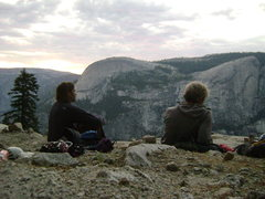 Rock Climbing Photo: Hangin