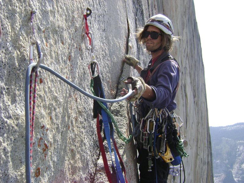 Rock Climbing Photo: high up on Tis Sa Ack
