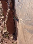 Rock Climbing Photo: Sinker locks.