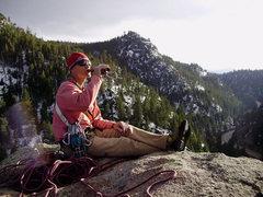 Rock Climbing Photo: Le piece de resistance! Chocolate stout.