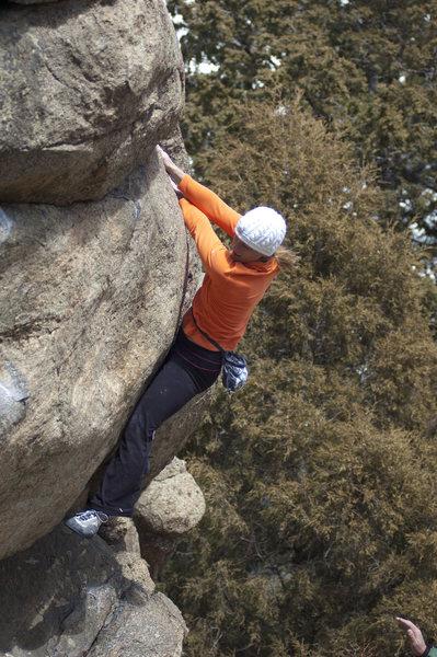 Rock Climbing Photo: Trixie.