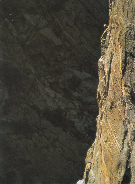 Rock Climbing Photo: Drew Spaulding on the Scenic Cruise in '95...photo...