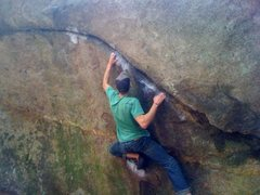 Rock Climbing Photo: Ride the Lightning V6