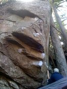 Rock Climbing Photo: leave it to beaver V8