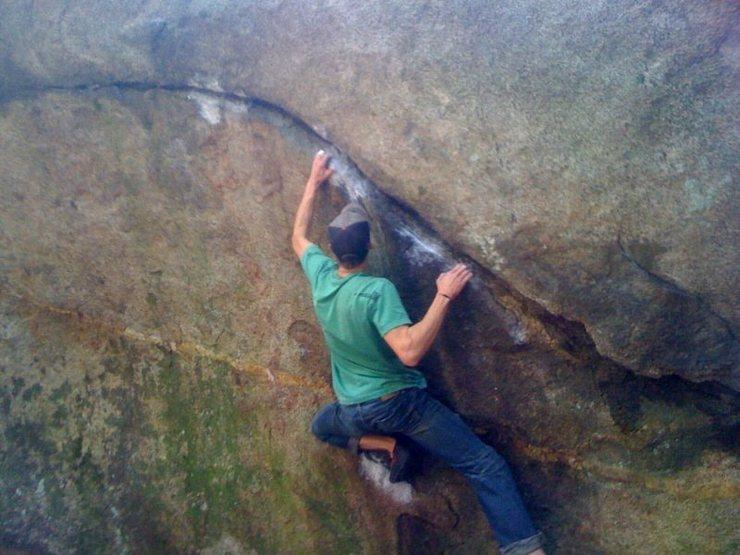 Rock Climbing Photo: siiick!
