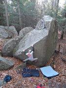Rock Climbing Photo: Bermuda Triangle