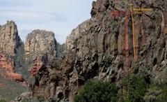 Rock Climbing Photo: Ninja Warrior topo