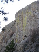 Rock Climbing Photo: Another view of Inner Gorilla as seen from the app...