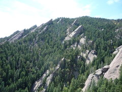 Rock Climbing Photo: Flatiron Rocks