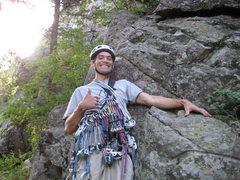 Rock Climbing Photo: I love gear!