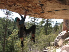 Rock Climbing Photo: My buddy getting one of his projects The Pulse 13....