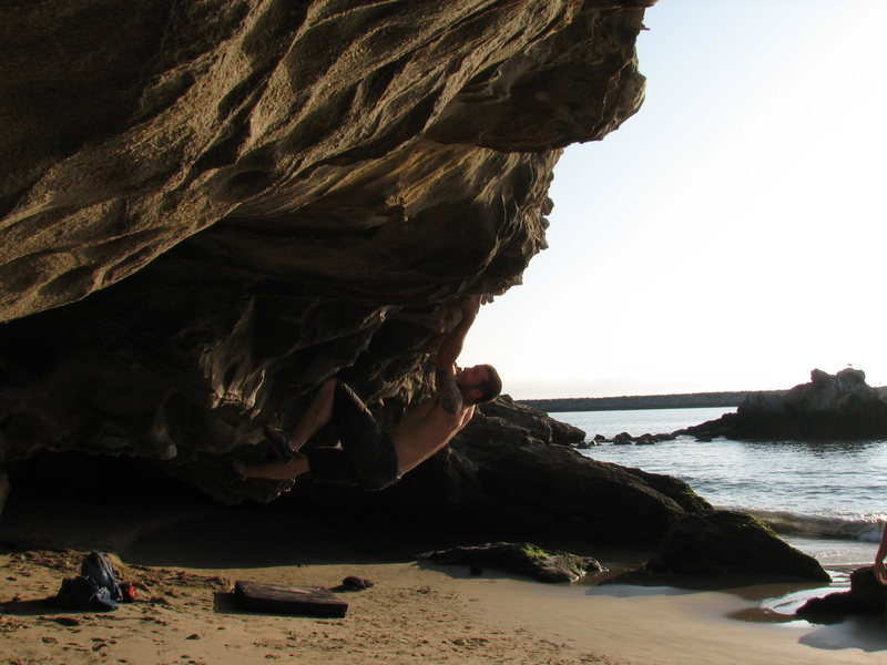 Rock Climbing Photo: Iorn Man V3 Corona Del Mar.