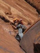 Rock Climbing Photo: doing work on the FA