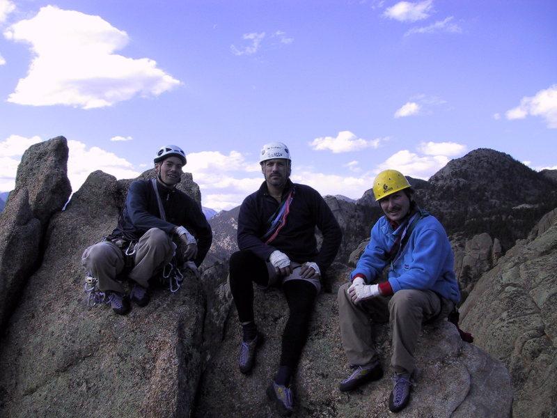 Summit of Twin Owls, Lumpy Ridge.