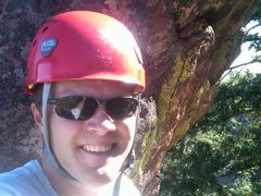 Rock Climbing Photo: on the second flat iron