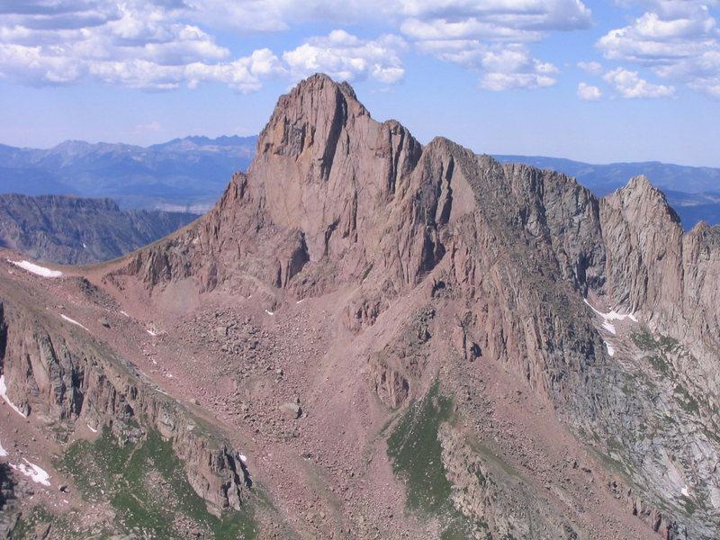 Rock Climbing Photo: Pigeon Peak.