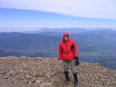 Rock Climbing Photo: Summit of West Spanish Peak, CO.