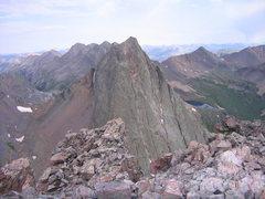 Rock Climbing Photo: Storm King Peak from Mount Silex.