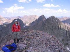 Rock Climbing Photo: Summit of the Guardian.