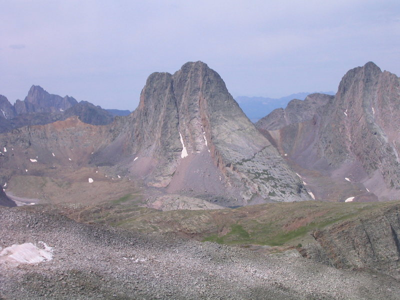 Rock Climbing Photo: Vestal from Peak Two.