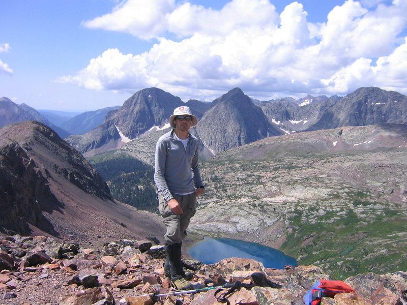 Summit of Hunchback Mountain.