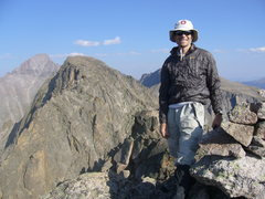 Rock Climbing Photo: On Powell Peak, RMNP