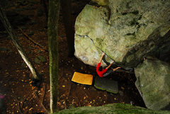 Rock Climbing Photo: Hobbit Hole
