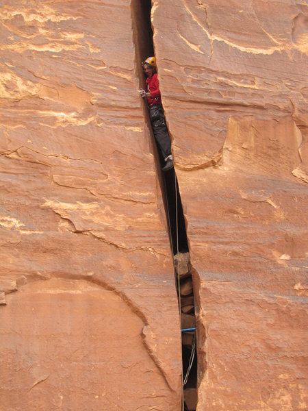Rock Climbing Photo: They drew first blood.