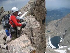 Rock Climbing Photo: Chasm View.