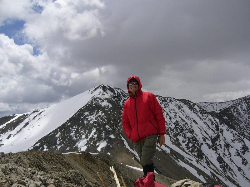 Summit of Peak 9.